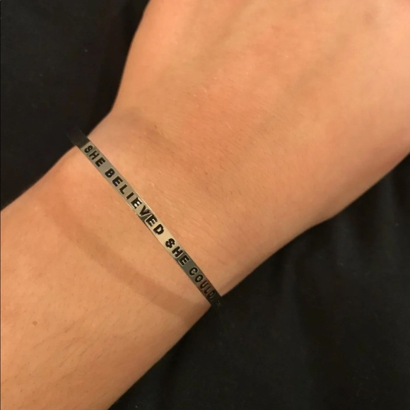 82ed3e255a5 mantra Jewelry | Band Bracelet | Poshmark